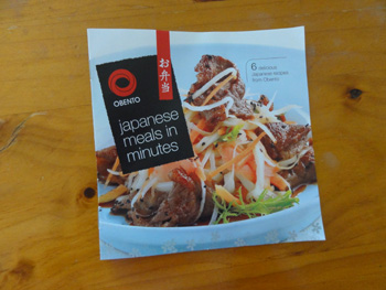 Japanese meals in minutes